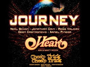Journey:Heart:CheapTrick