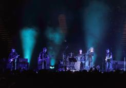 Temple of the Dog performs at the Forum on Monday. ///ADDITIONAL INFORMATION: 11/14/16 - templeofthedog_review.1115 - KELLY A. SWIFT, - CONTRIBUTING PHOTOGRAPHER