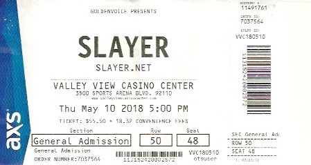 Slayer:Anthrax
